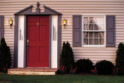 Интересная модель дверной конструкции