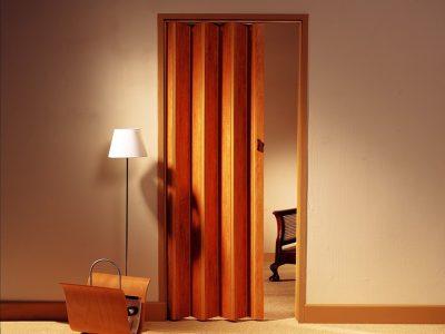Межкомнатная дверь в виде «книжки»