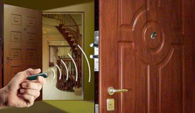 Дистанционное управление замком двери