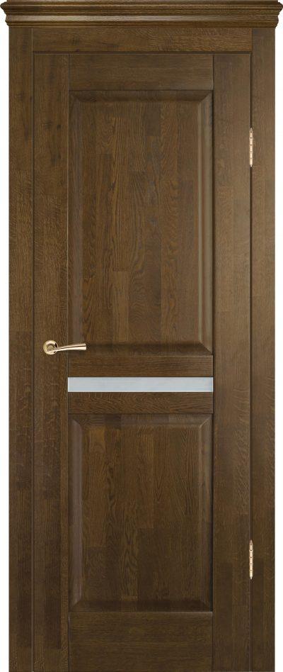 Один из вариантов межкомнатной двери, выполненной из цельного массива древесной породы ольха, который отличается привлекательным внешним видом