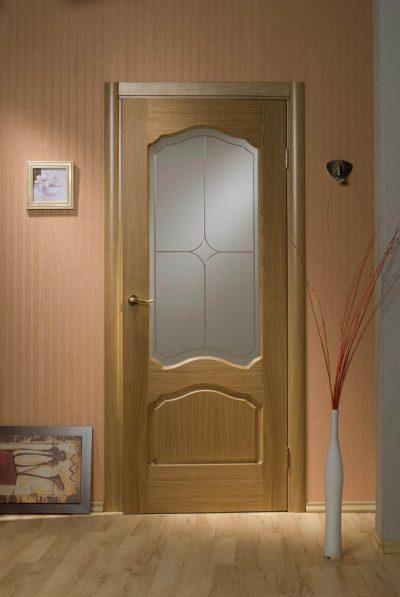Двери шпонированные, фото