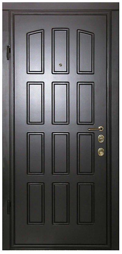 Отделка дверной конструкции МДФ, фото