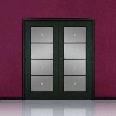Двухстворчатая межкомнатная дверь