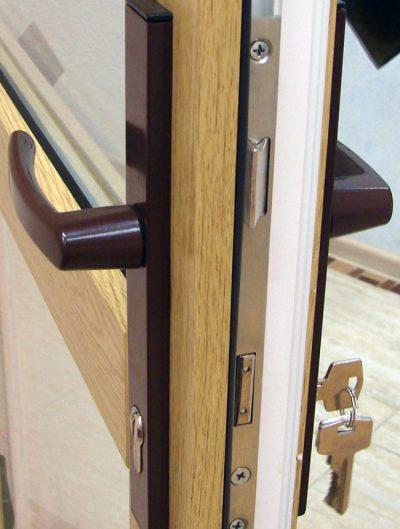 Входная дверь с качественными замками