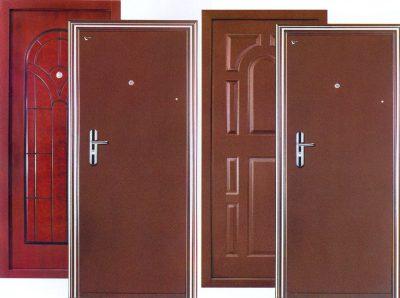 Нестандартные металлические двери