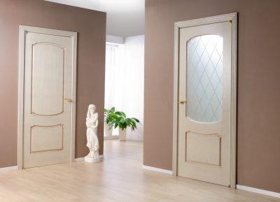 Двери из тропической древесины