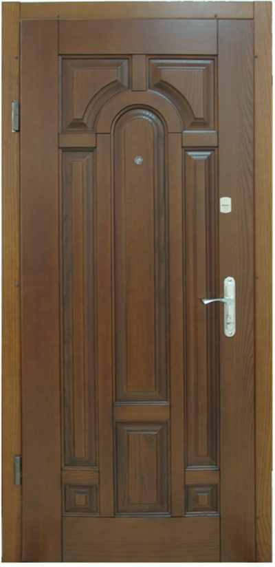 Двери для частного дома из ольхи