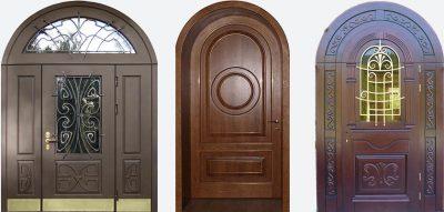 Классическая арочная дверь