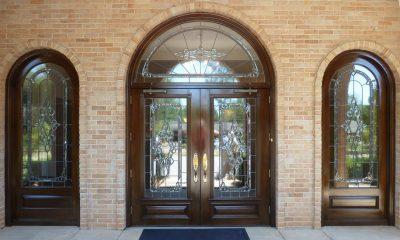 Двустворчатые арочные двери