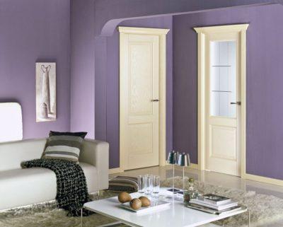 Одинаковые дверные полотна в квартире