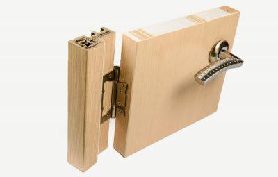 Влагостойкая дверь в разрезе