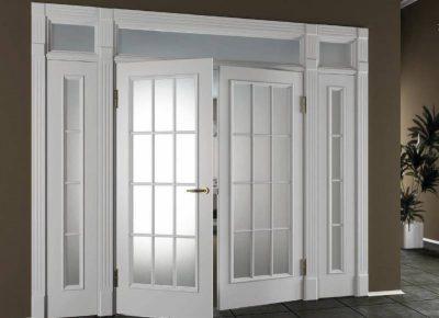 Межкомнатная остекленная дверь