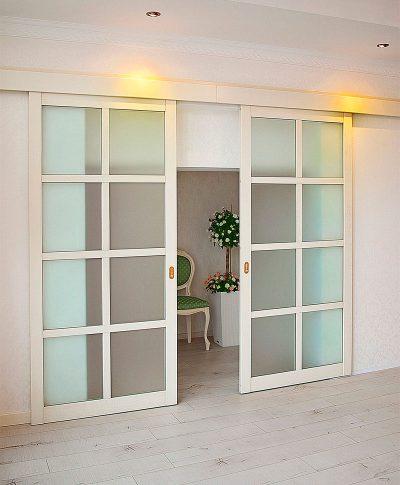 Складные дверные изделия во внутреннем убранстве