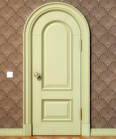 Дверь с одностворчатым полотном