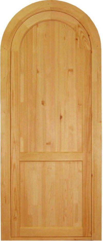 Дверная конструкция из массива сосны