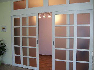 Если создать прозрачный проем, можно получить максимальное освещение помещения