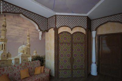 Восточный стиль с аркой