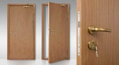 Один из возможных вариантов дверной конструкции из ДВП, дополняющая собой интерьер комнаты
