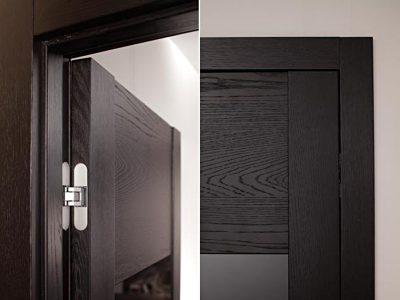 Дверь со скрытыми петлями