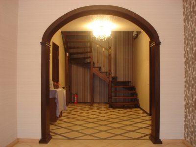 Британская арка из гипсокартона