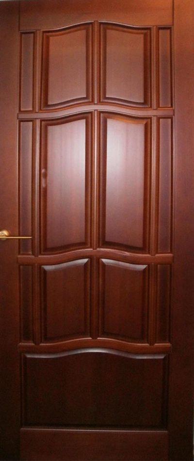Двери под цвет вишни