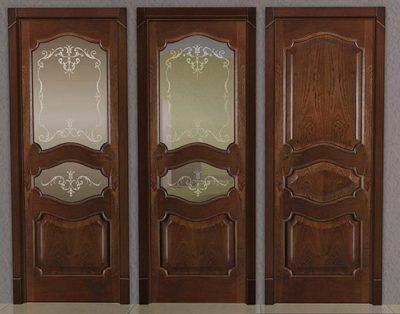 Вставить стекло в межкомнатную дверь
