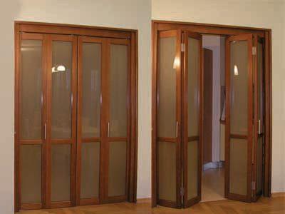 Складные межкомнатные двери, фото