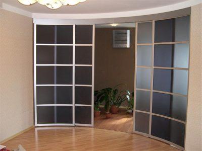 Где можно использовать раздвижную конструкцию дверей