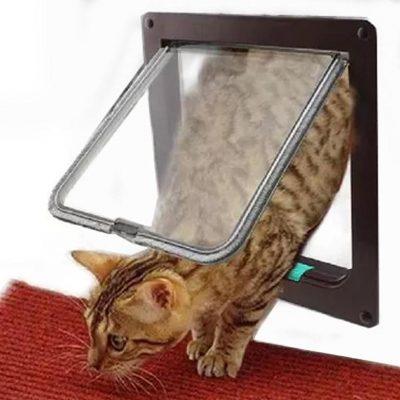 Окошко для входа кошки