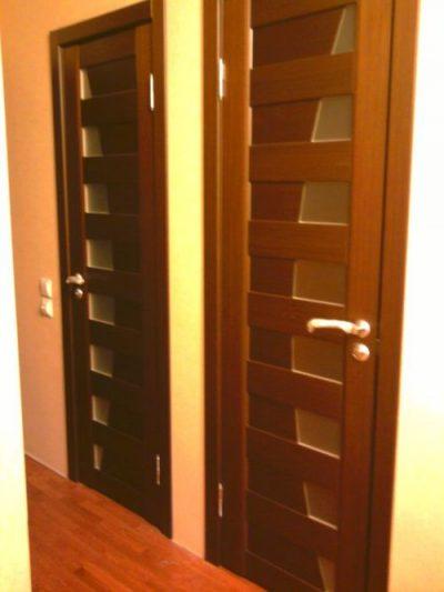 Двери для санузлов из МДФ