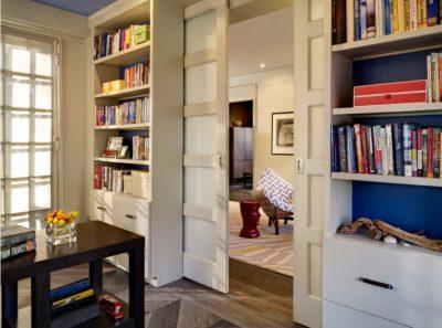 Соответствие оттенка мебели и полотна двери