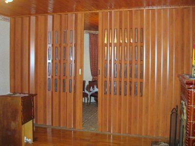 Двери гармошка универсальны