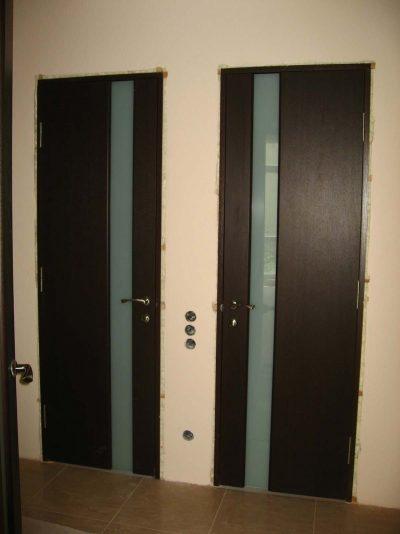 Дверное строение из МДФ, фото