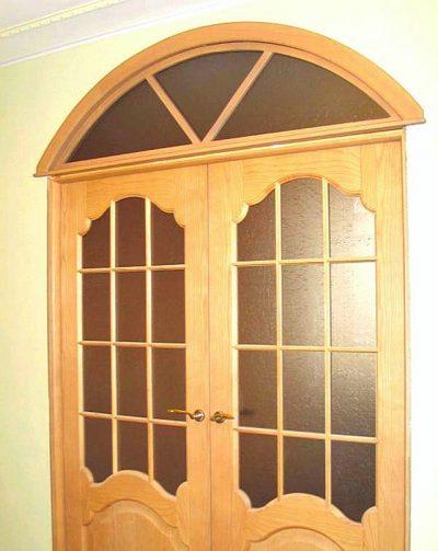 Дверной блок с фрамугой