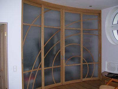 Оформление дверного полотна