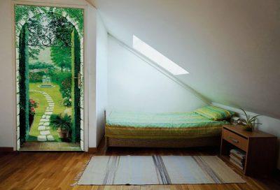 Какие обои на дверь стоит выбрать, чтобы они подошли под ваш интерьер помещения