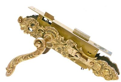 Латунная ручка