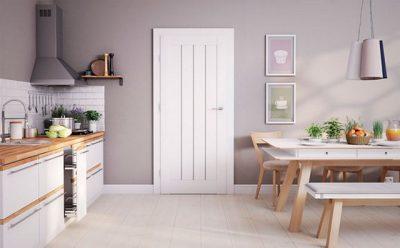 Вариант оформления кухни квартиры в скандинавском стиле
