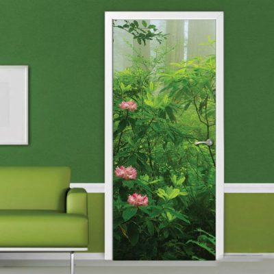 Пленка для дверного полотна с фотообоями