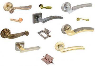 Варианты фурнитуры для стандартной двери