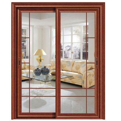 Обычное прозрачное стекло для дверей