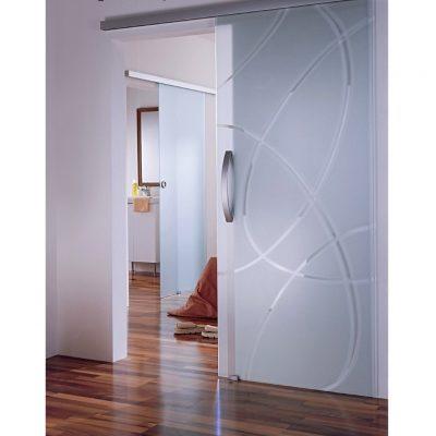 Каленное дверное стекло в конструкции