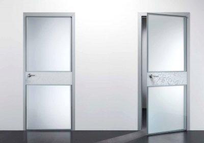 Какие материалы используются для изготовления офисных межкомнатных дверей?