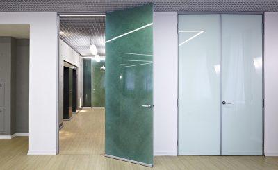 Створки с двойным стеклом