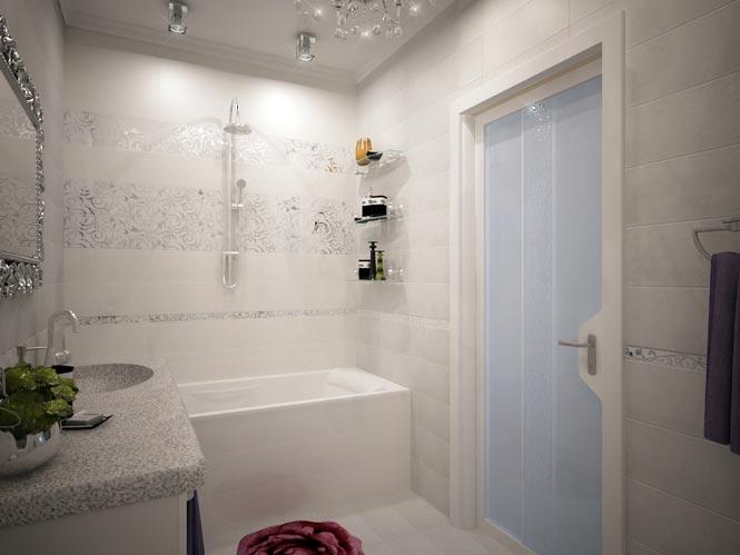 Створки в ванной комнате