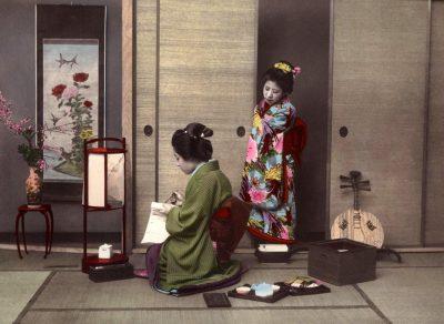 Традиционные японские полотна