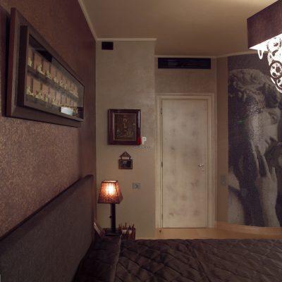 Слоновая кость в небольшом помещении