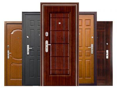 Особенности и характеристики входных металлических дверей эконом-класса
