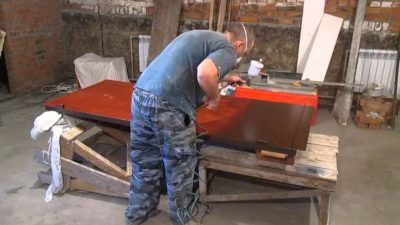 Как правильно подобрать краску для ворот, подготовка конструкции к покраске, пошаговая инструкция