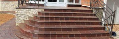 Укладка противоскользящего покрытия на ступени крыльца – виды настила и их характеристика
